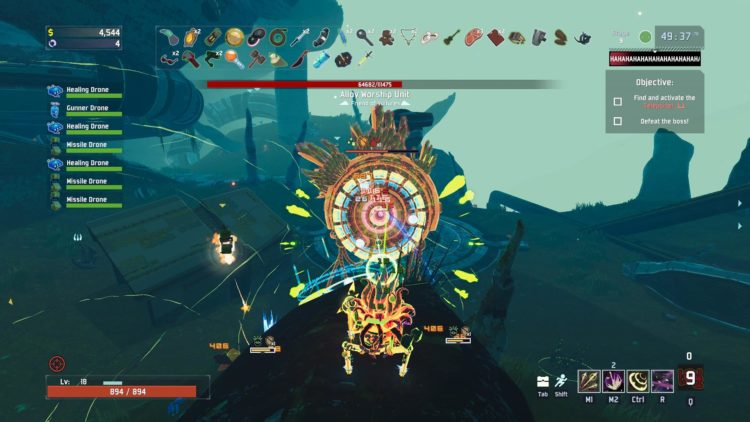 Risk of Rain 2 guide: how to unlock the Loader and how to beat Alloy Worship Unit
