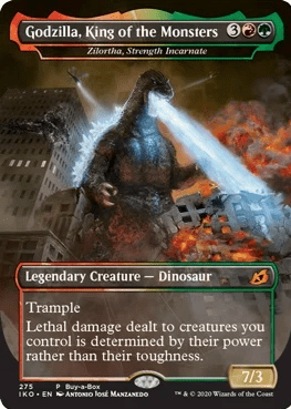 Godzilla Set To Invade Magic The Gathering In New Set (3)