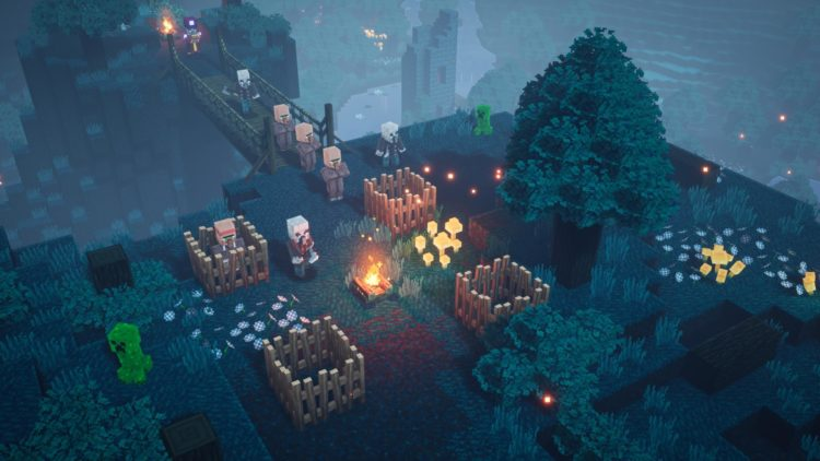 Minecraft Dungeons Pc Review Minecraft Dungeons Review Creeper Woods