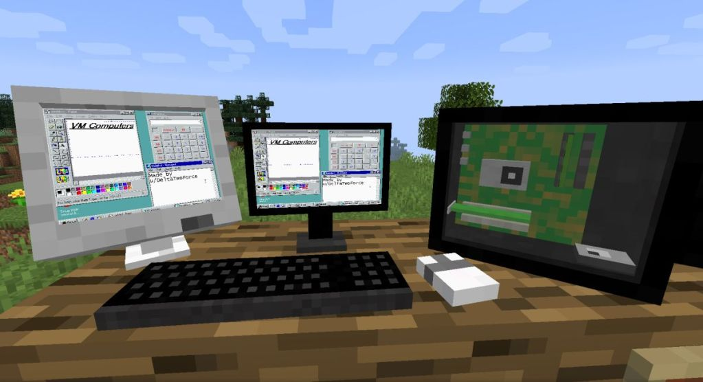 This mod lets you build a working custom PC inside Minecraft