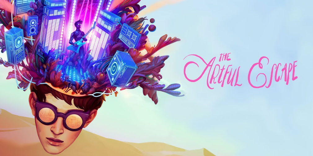 Psychedelic platformer The Artful Escape gets a new gameplay trailer