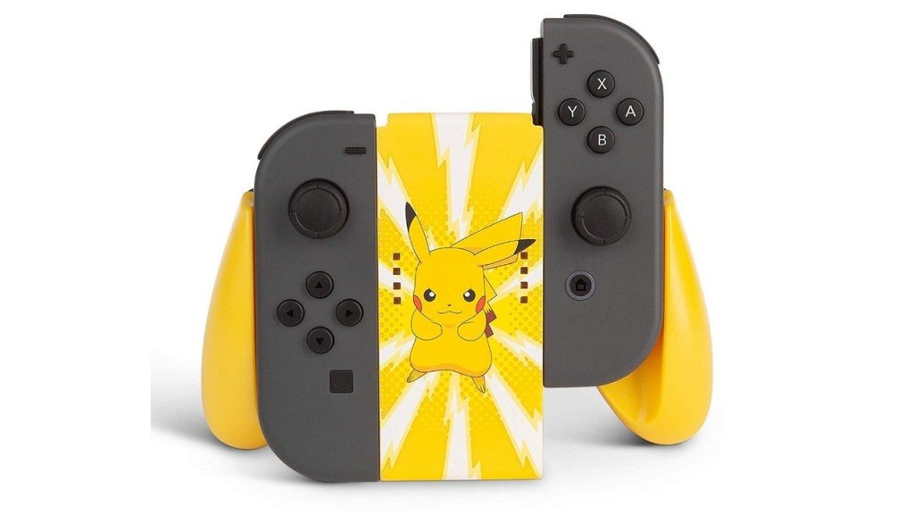 This Officially Licensed Pikachu Switch Joy-Con Grip Is Now Available To Pre-Order