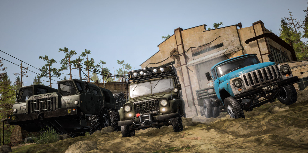 MudRunner Mobile is an excellent off-road trucking sim set for an iOS & Android launch on July 15th