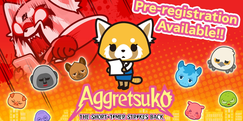 Aggretsuko: The Short Timer Strikes Back is an upcoming match-3 puzzler for iOS and Android that