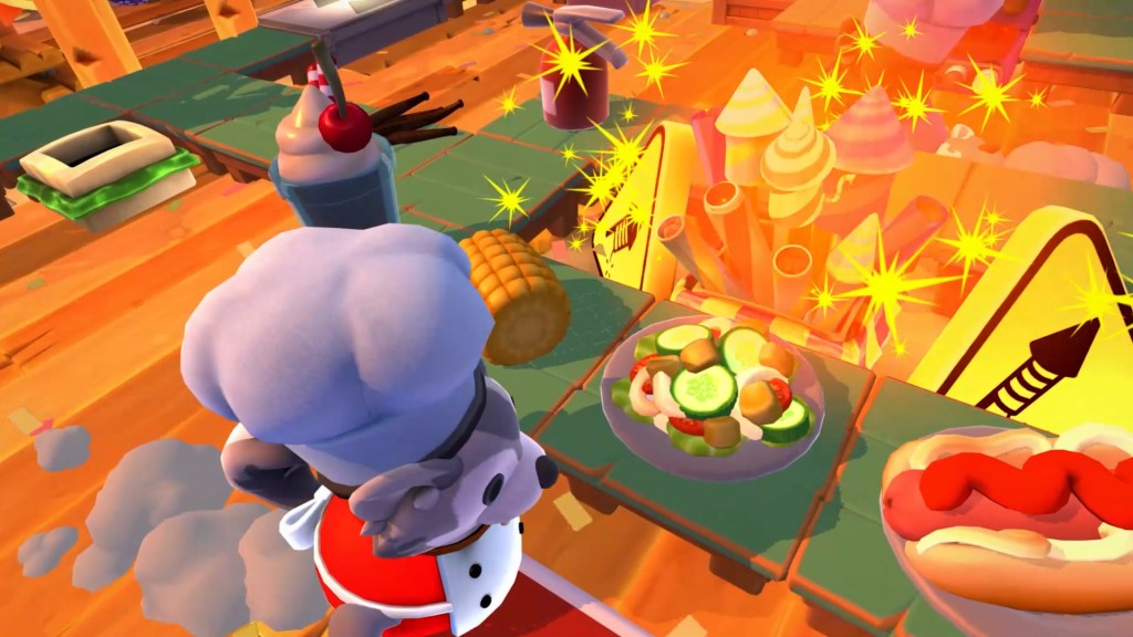 Bask in summer goodness with Overcooked 2 Sun's Out Buns Out DLC