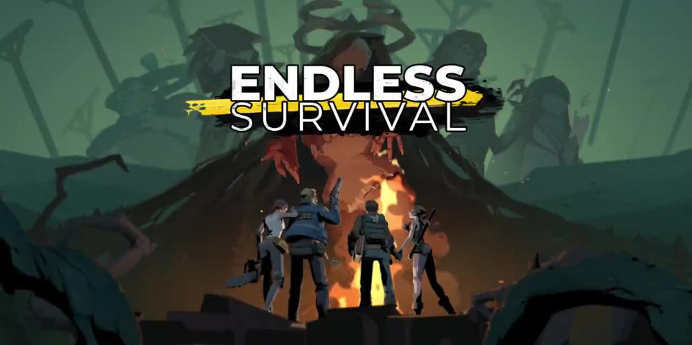 Endless Survival is a stylish MMO set in a dark world of zombies, critters, and malevolent witches