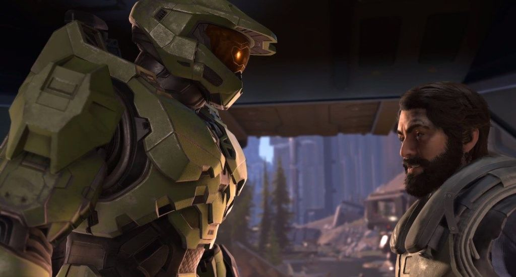 Halo Infinite campaign reveal shows a ring 'several times larger than the last few Halo games combined'