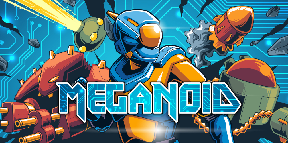 OrangePixel will bring a dozen of its latest games to Switch, starting with roguelike Meganoid next month