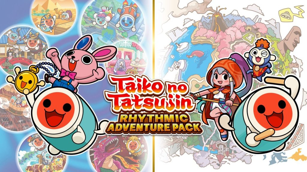 Taiko no Tatsujin: Rhythmic Adventure Pack Brings Two 3DS Drummers To Switch This Winter