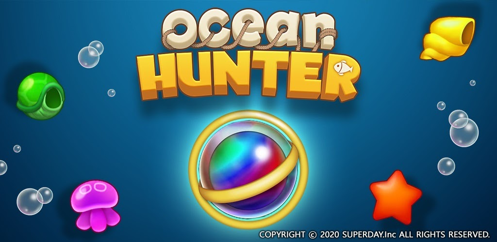 Ocean Hunter is a colourful sea-themed match-3 puzzler that