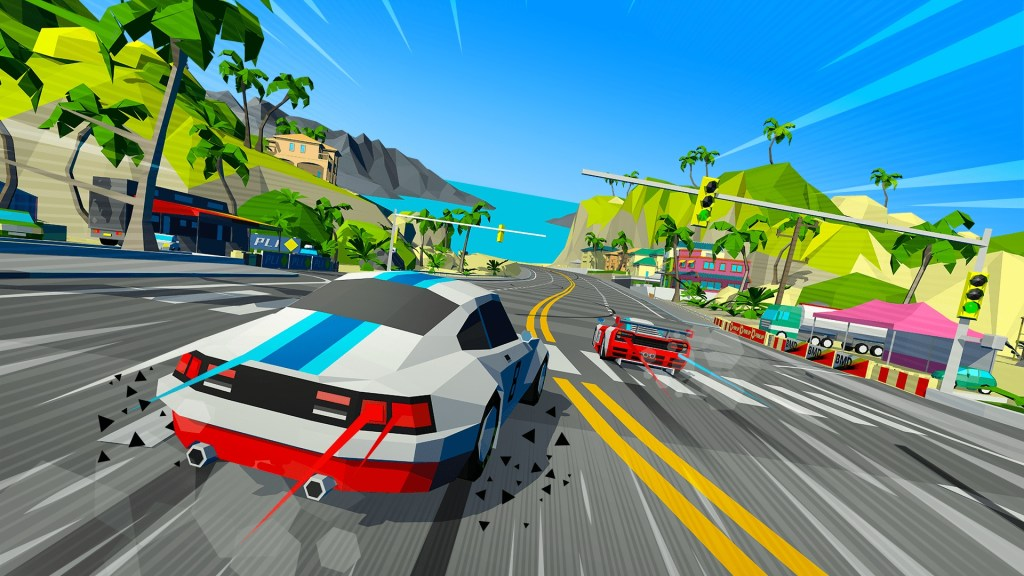 Win Hotshot Racing for Xbox One, PS4, or PC