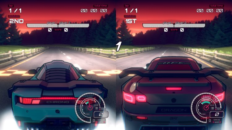Inertial Drift review Splitscreen