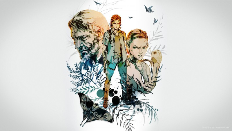 Kojima Productions' Yoji Shinkawa Released Gorgeous Art For The Last Of Us Day 2020
