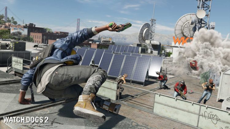 Watch Dogs 2 Mods Enhanced Parkour
