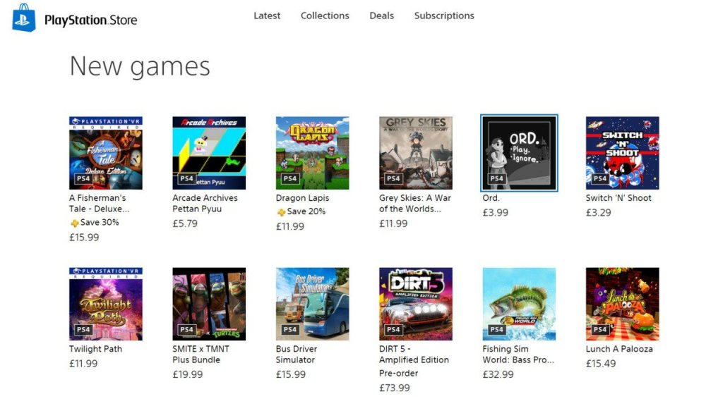 Sony Adds Game Names to New PlayStation Store on Web Browser