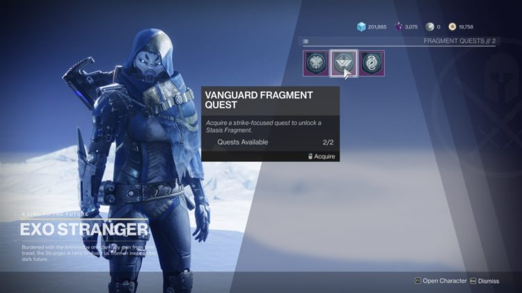 Destiny 2 Beyond Light Stasis Fragment Quests Guide 1