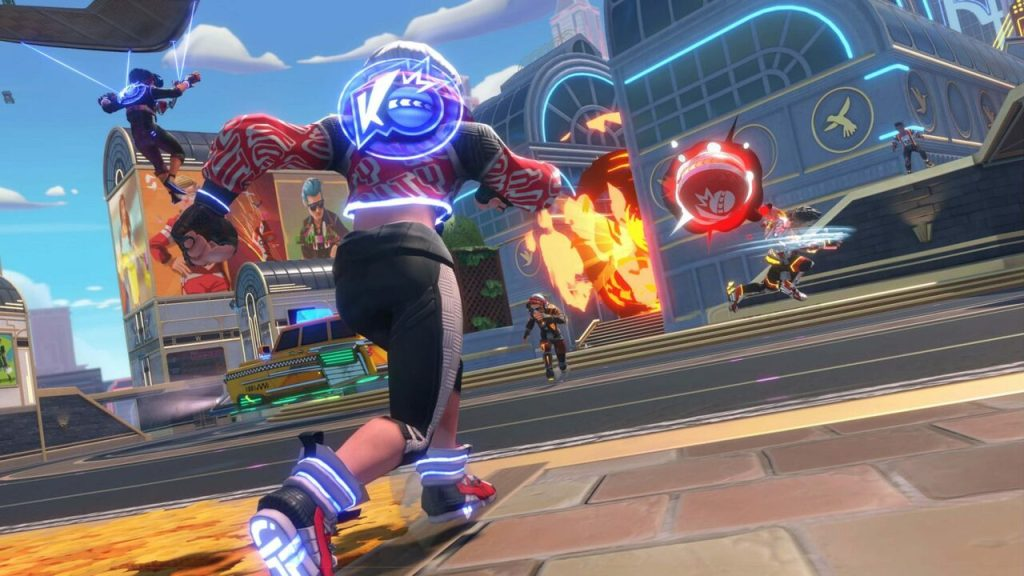 Knockout City Brings Dodgeball to the Streets on PS4