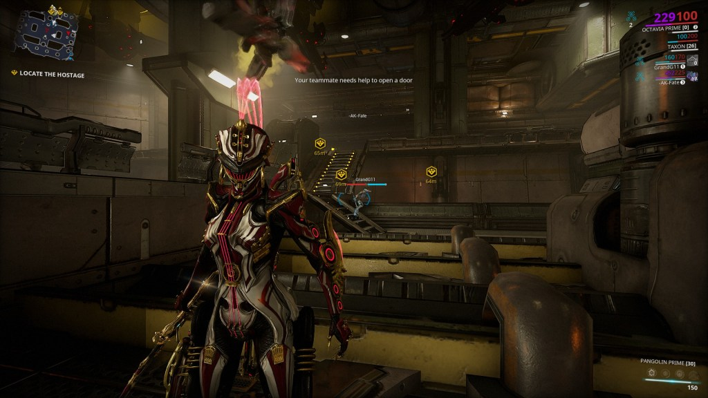 Taking Octavia Prime (and her weapons) for a spin