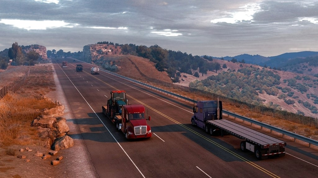 American Truck Simulator is off to Texas next, but size means it mightn't happen this year • Eurogamer.net
