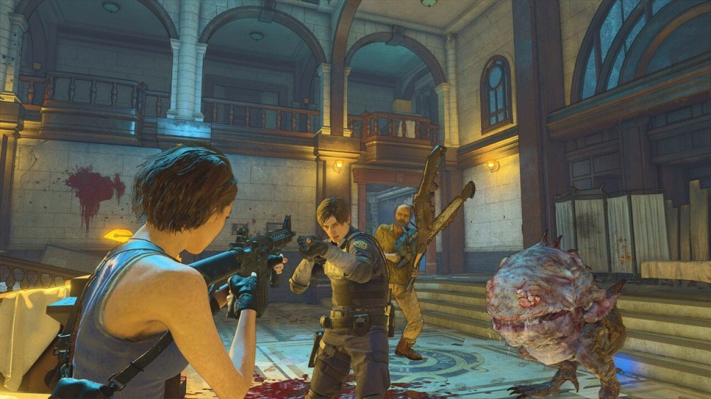 Resident Evil Re:Verse Grabs Open Beta on PS4 Next Month