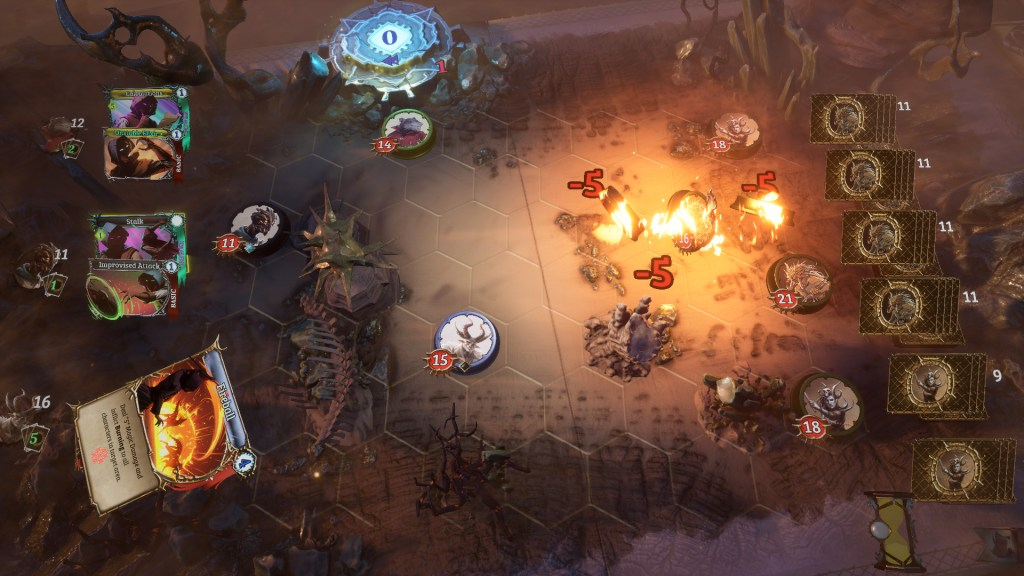 Card-based strategy RPG Trials of Fire gets an April release date