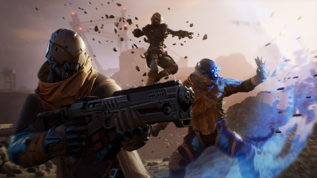 Outriders patch adds cross-play between PC and PlayStation