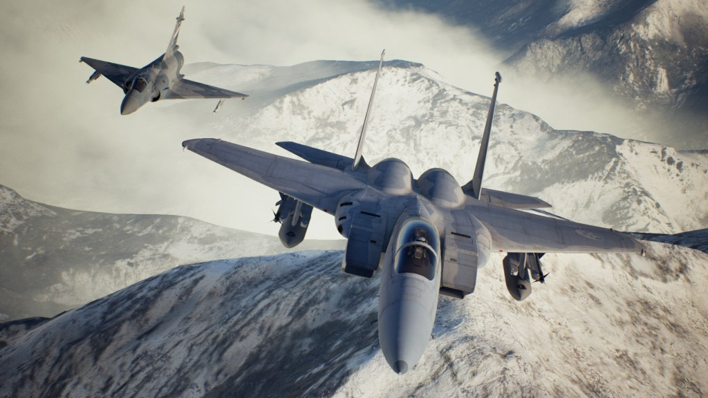 "Ace Combat 7 ""experimental"" DLC brings back three aircraft and new skins"