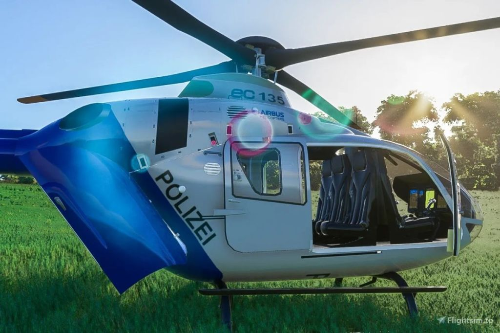 Flight Simulator doesn't have helicopters, modders added one anyways