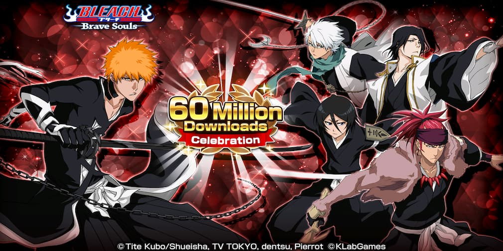 Bleach: Brave Souls to celebrate 60 million downloads worldwide with new events and rewards | Articles