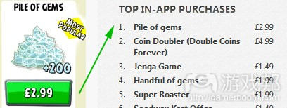 angry birds go most popular(from gamasutra)