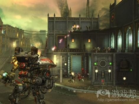 Warhammer 40000: Freeblade(from pocketgamer.biz)