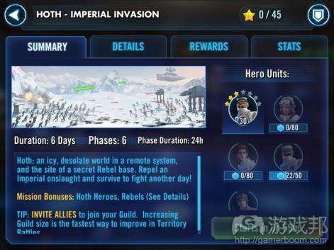 Star Wars: Galaxy of Heroes(from pocketgamer.biz)