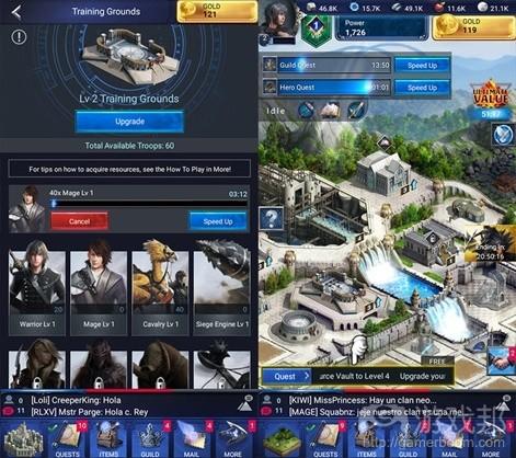 Final Fantasy XV: A New Empire(from pocketgamer.biz)