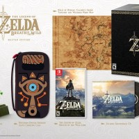 Zelda: Breath of the Wild Edición Coleccionista, Special y Master Edition
