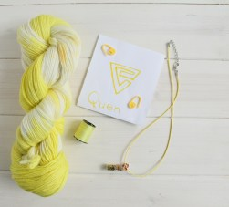 Quen Witcher 3 themed yarn by GamerCrafting