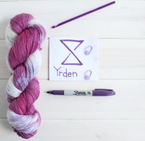 Yrden Witcher 3 themed yarn by GamerCrafting