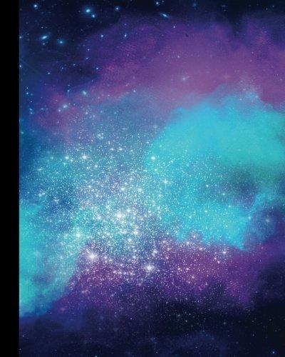 Galaxy themed bullet journal