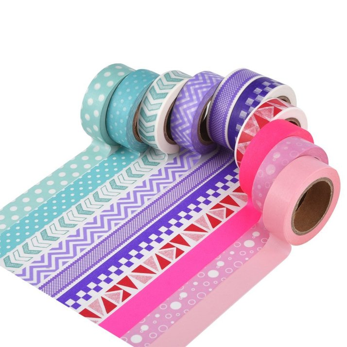 Patterned washi tape