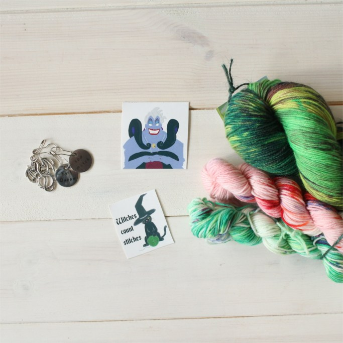 March 2018 mystery yarn club subscription