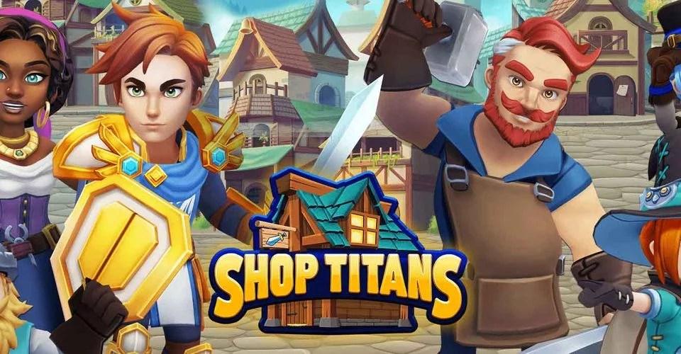 Shop Titans: RPG de Comerciantes