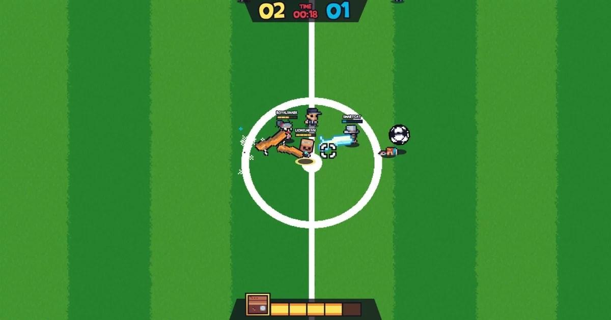"""""""Guts 'N Goals: Preseason"""" futebol e paulada"""