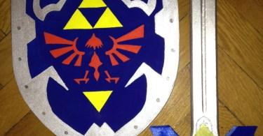 épée et bouclier Link (Zelda)