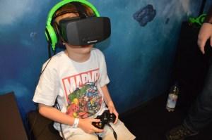 Victor et l'Oculus Rift