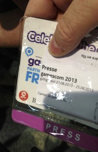 carte de Presse Gamescom