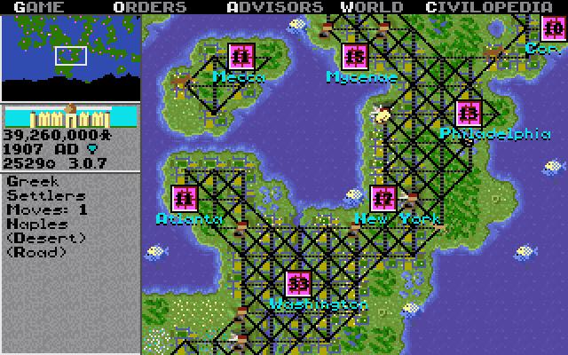 Sid Meier's Civilization (premier du nom)