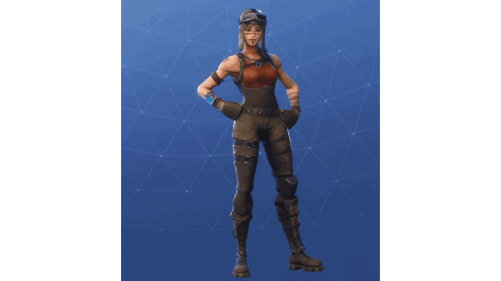 Renegade Raider skin in Fortnite