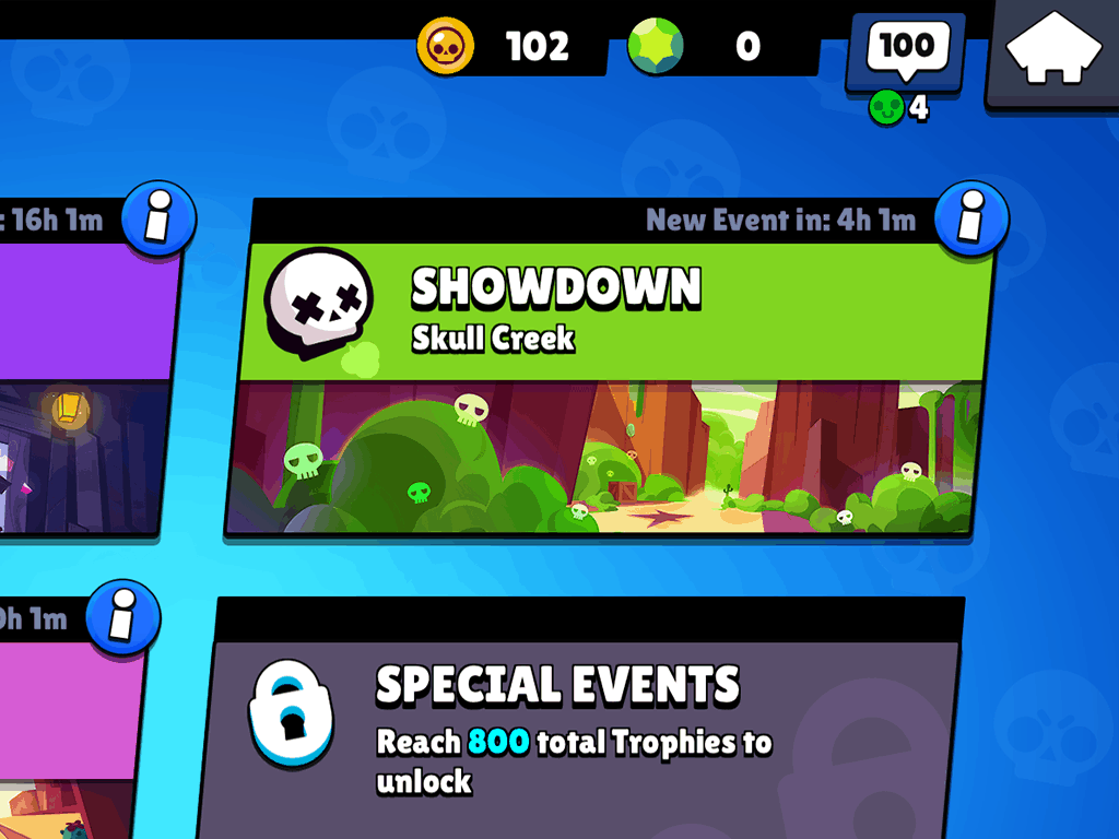 Brawl Stars Showdown skull creek game mode