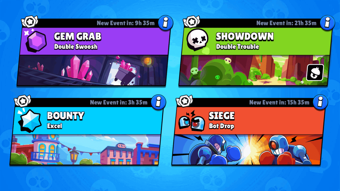 Brawl Stars all game modes list