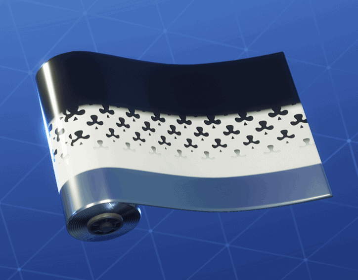 Clubs Wild Card weapon wrap Fortnite season 8
