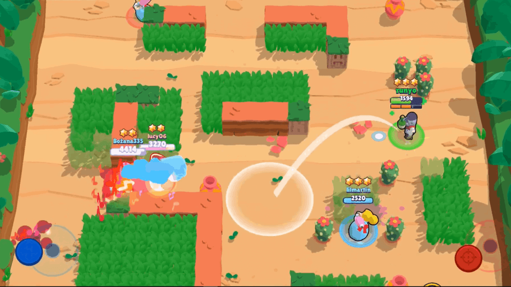 Gameplay screenshot brawl stars